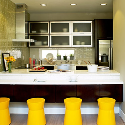 4 Wonderful Ideas for Utilizing Kitchen Space