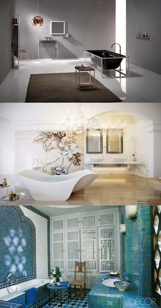 5 Luxurious and Unique Bathtub Design Ideas
