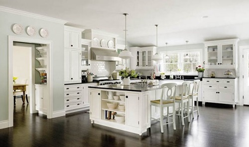 5 Trendy Ideas for Decorating Modern White Kitchens