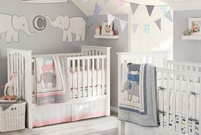 7 splendid Ideas to Create a Blue Elephant-Themed Nursery for your Newborn Child