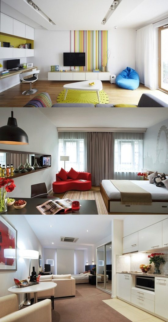 Design You Room: Amazing Designs For Your Single Room Apartment