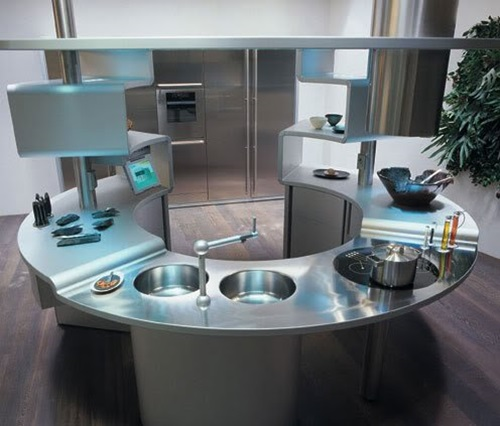 Amazing Ideas for Ergonomic Kitchen Design