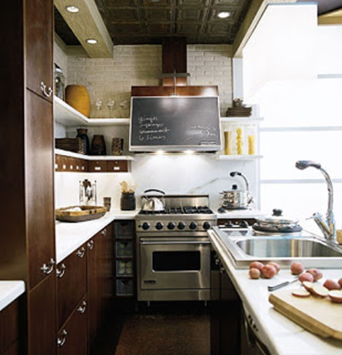 Brilliant Big Ideas for Small Kitchens