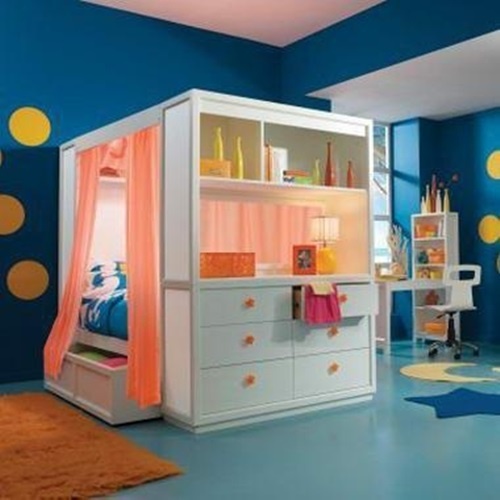 Cute Kids Room Decorating Ideas: Cute Beds For Kids' Small Rooms