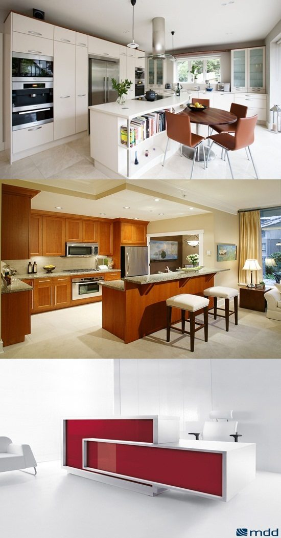 modern round kitchen island interesting ideas - Round Kitchen Island