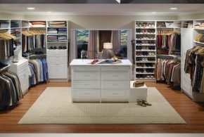 Smart and Practical Walk-in Closet Design Ideas