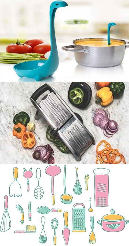 4 Amazing Digital Kitchen Utensil Designs