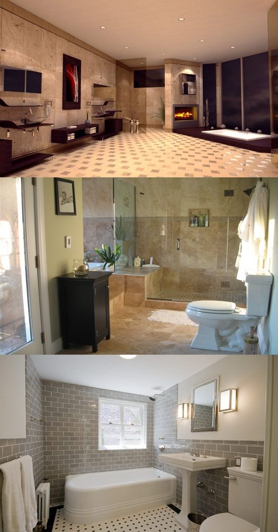 4 Great Ideas for Remodeling Small Bathrooms - Interior design on Great Bathroom Ideas  id=62477