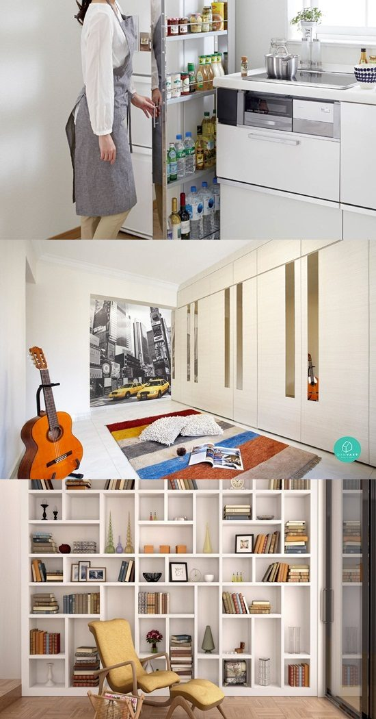 4 Handy Space Saving Solutions for Small Apartments