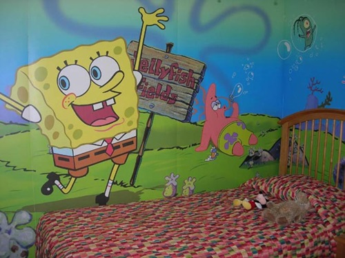 5 Steps to Remodel Your Kids Room Using Sponge Bob Theme