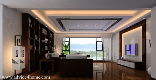 Amazing ceiling decorations for your modern home - Modern bedroom ceiling designs 2017 ...