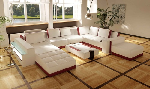 Amazing Modern Living Room Sofa Designs