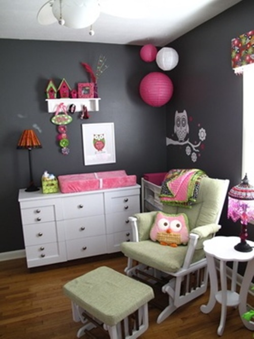Awesome Ideas to Decorate your Kids Roomwith DIY Owl Shapes