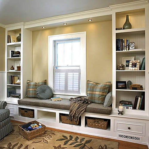 Cool Reading Nook Designs to Spend Relaxing Times