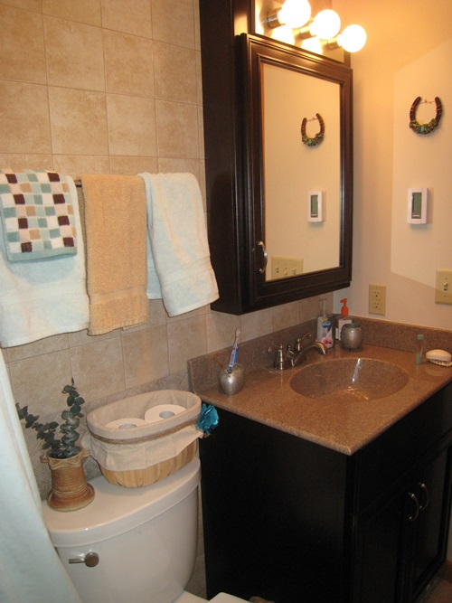 Creative small bathroom makeover ideas on budget - Cheap bathroom ideas for small bathrooms ...