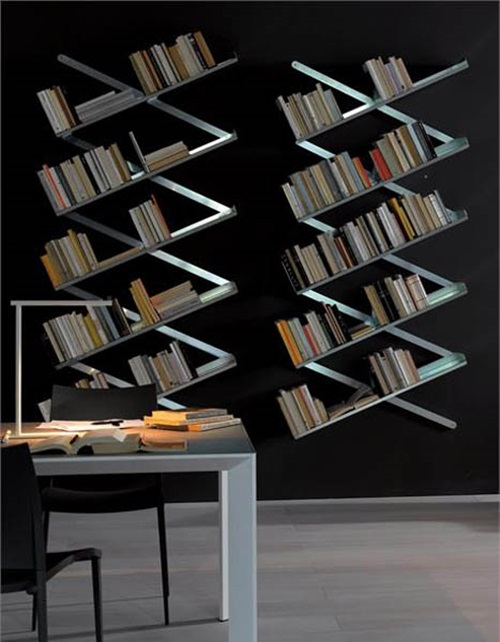 Inspiring and Unusual Shelves for a Modern Home
