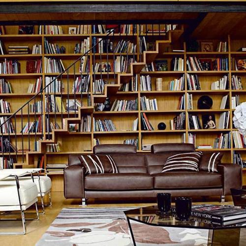 Modern Home Library Design Ideas: Interesting Home Library Designs For Modern Homes