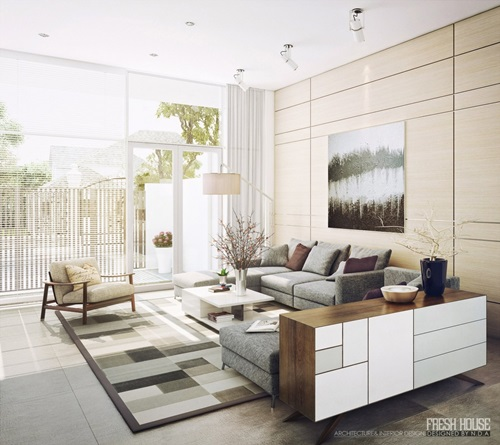 Inviting Natural Additions to your Modern Living Room