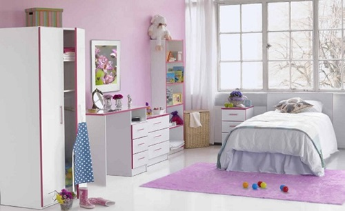 Wonderful Classic Young Girl Bedroom Decorating Ideas