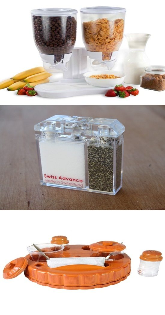 10 Unique Designs for your Spice and Salt Dispensers
