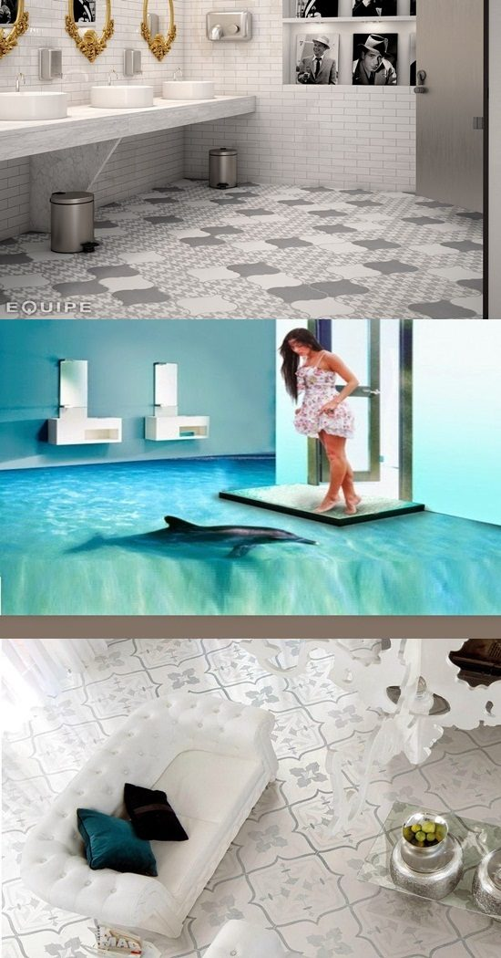 Amazing Floor Tile Designs for Your Lovely Home