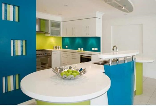 Amazing Vibrant and Multi-colored Kitchen Decorative Ideas