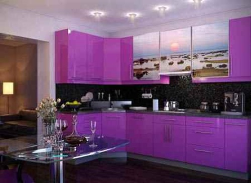 Amazing Vibrant and Multi-colored Kitchen Decorative Ideas