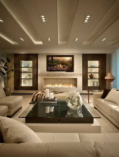 French Style Living Room: Chic And Luxurious Large French Style Living Room Ideas