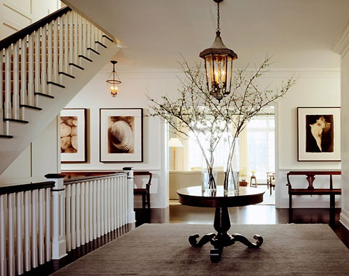 Contemporary Entryway Foyer Decorating Ideas