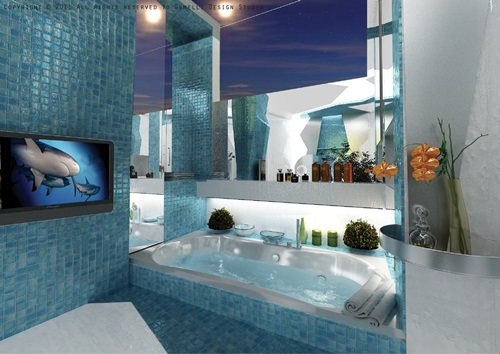 Creative Themes for Your Modern Bathroom Tiles