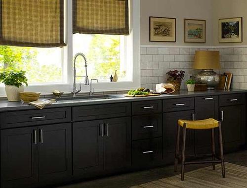 Elegant Espresso Cabinet Designs for a Warm Traditional ...