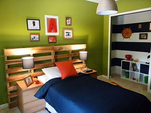 Impressive Wooden Headboard Design Ideas