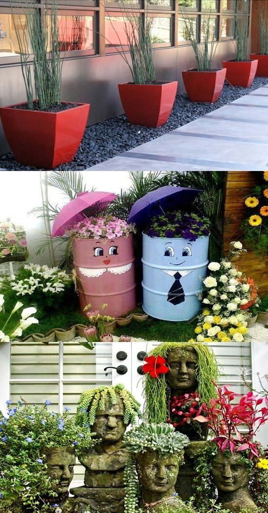 Inexpensive but Awesome DIY Home Planter Ideas