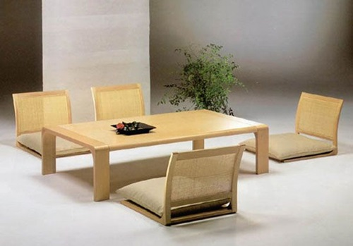 Minimal Japanese Modern Dining Room Design Ideas