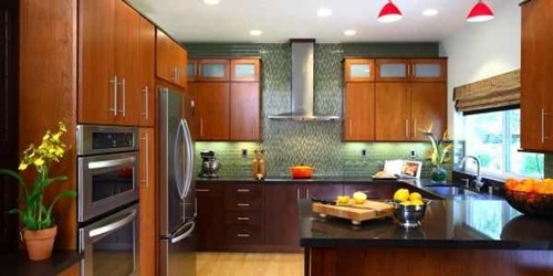 Splendid Asian Kitchen Design and Decorating Ideas