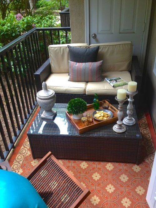 8 Cute Patio Side Table Design Ideas