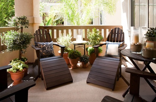 Amazing Interior and Exterior Balcony Design Ideas