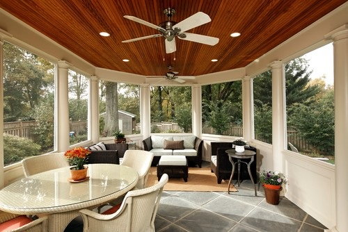 Interesting Porch Ceiling Design Ideas