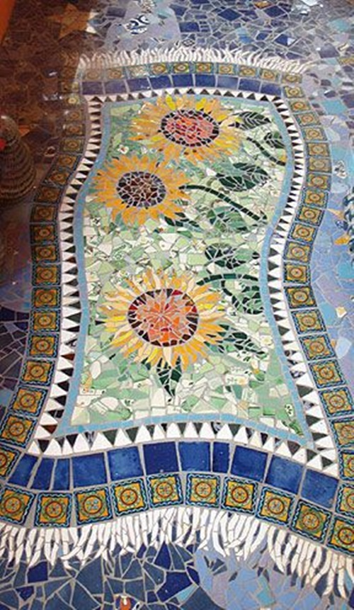 Magical Ways To Decorate Your Home And Garden Using Mosaic
