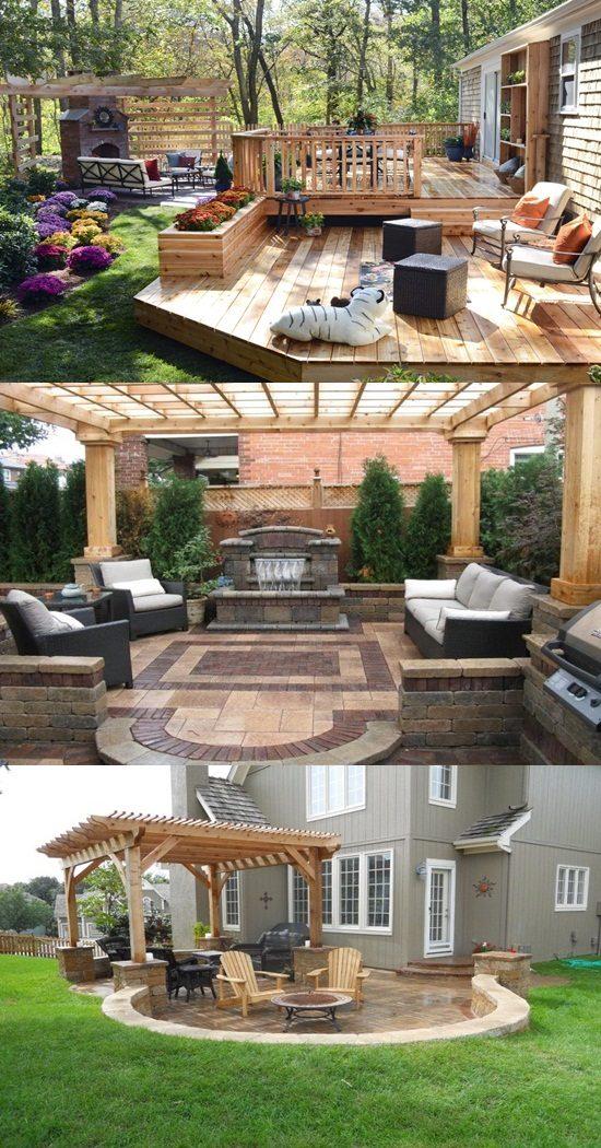 8 Cute Patio Side Table Design Ideas - Interior design on Side Patio Ideas id=52359