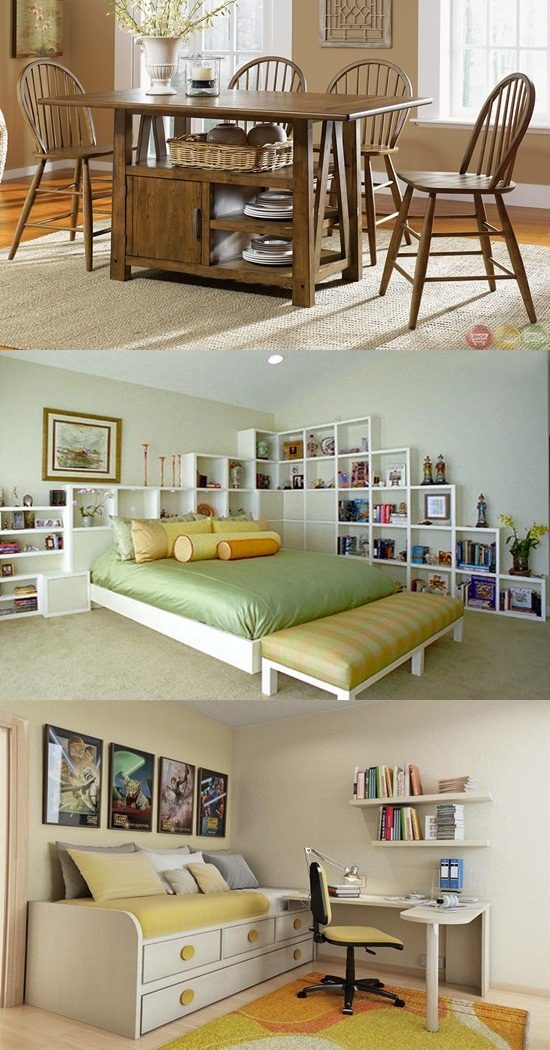 Spectacular storage ideas for your small home - Home decor ideas for small homes ...