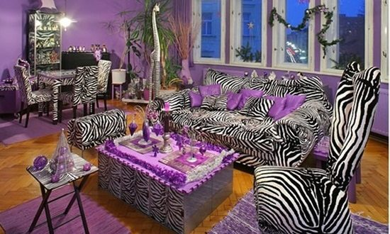 Stunning Zebra Theme Rooms Decorating Ideas