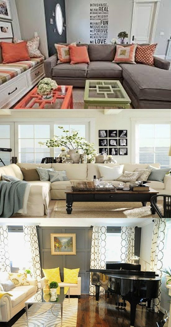 Add a stylish look to your living room