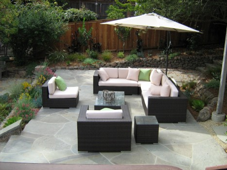 Attractive garden furniture