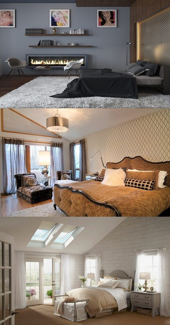 Beautify your bedroom look with modern stylish design