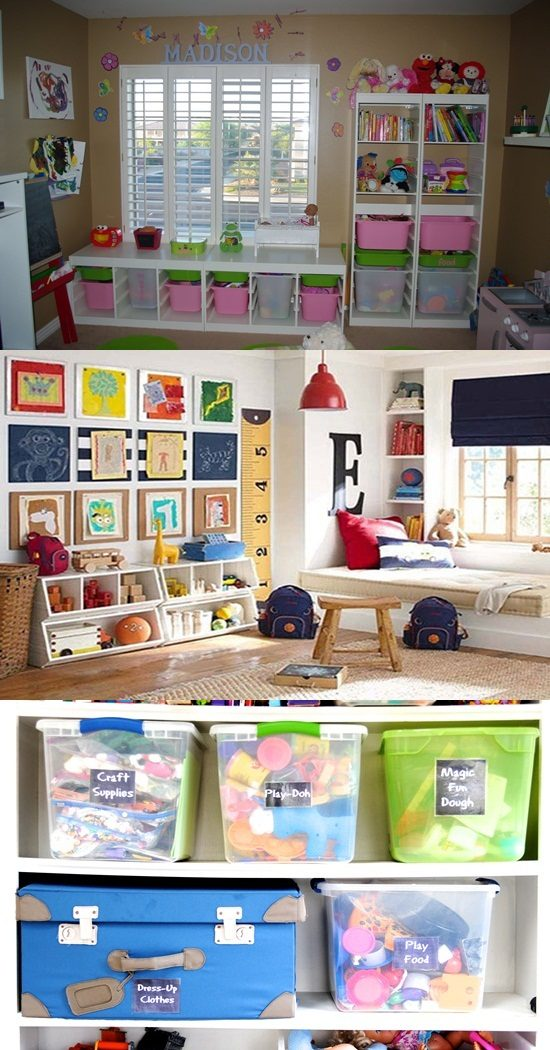 Clever Storage Organizers for Your Kids' Toys