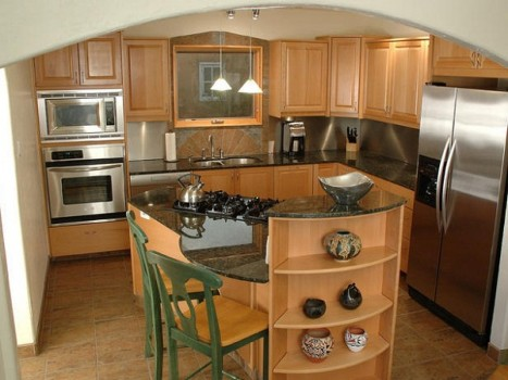 Creative elegant kitchen design