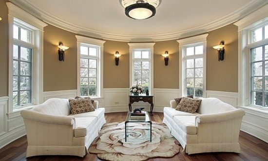 Creative lights choice for living room