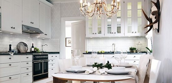 Design a White Kitchen