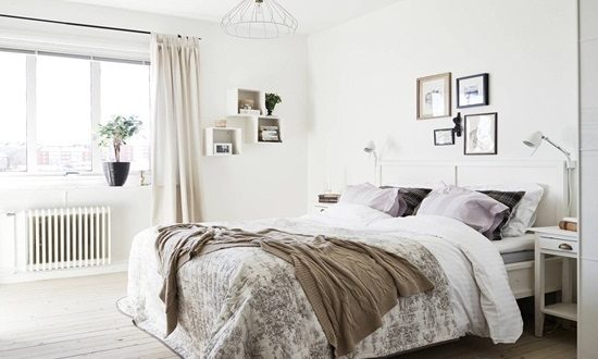 Design your bedroom with a gorgeous Swedish style